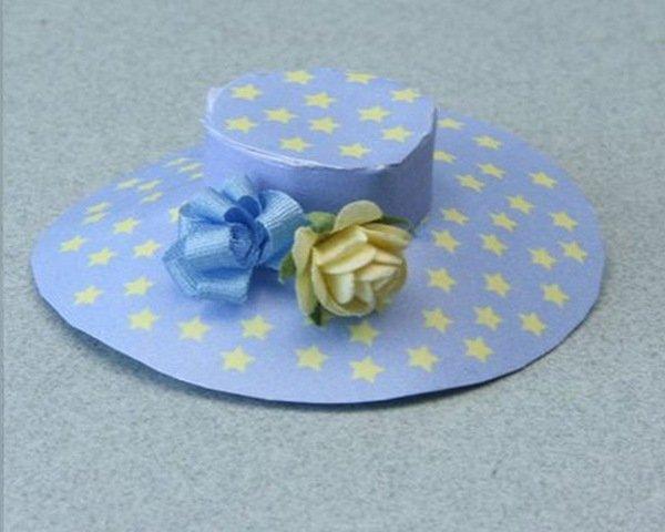 Шляпа своими руками из бумаги для ребенка 553