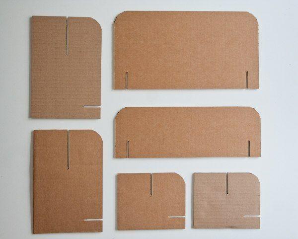 Как сделать кроватку из бумаги для игрушек