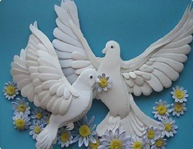 Как сделать птицу счастья из бумаги фото 978