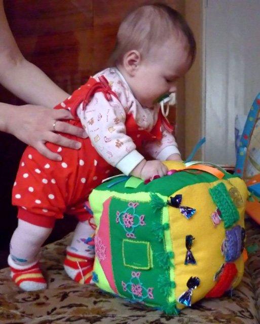 Мягкие развивающие игрушки своим руками