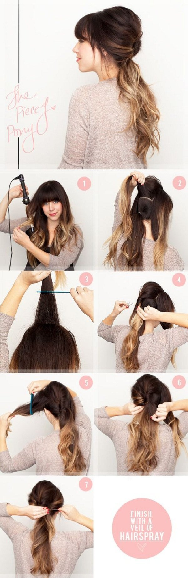 Прически на очень длинные волосы своими руками пошаговая инструкция фото
