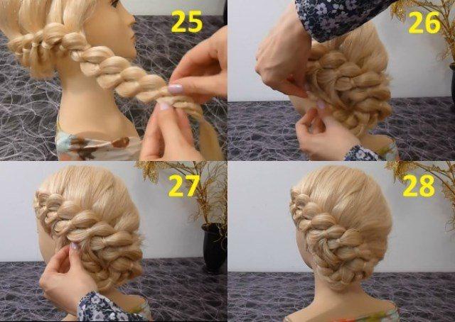 Как сделать одну объемную косу
