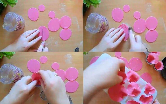 Цветы из мастики своими руками для начинающих 96