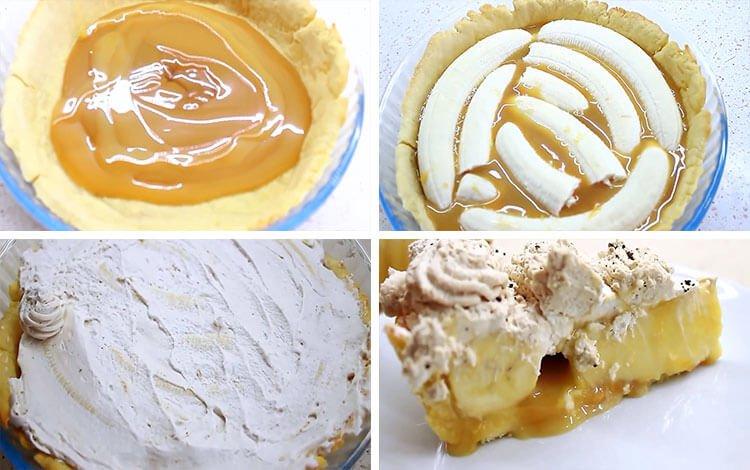 Англійський банановий торт «Баноффи Пай» без випічки