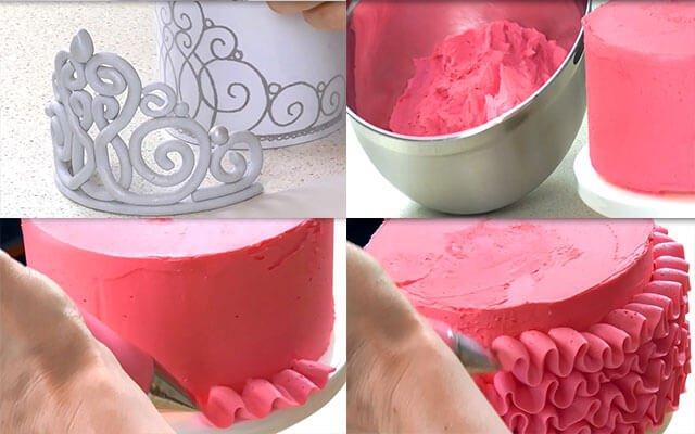 Как сделать фото для торта своими руками 492