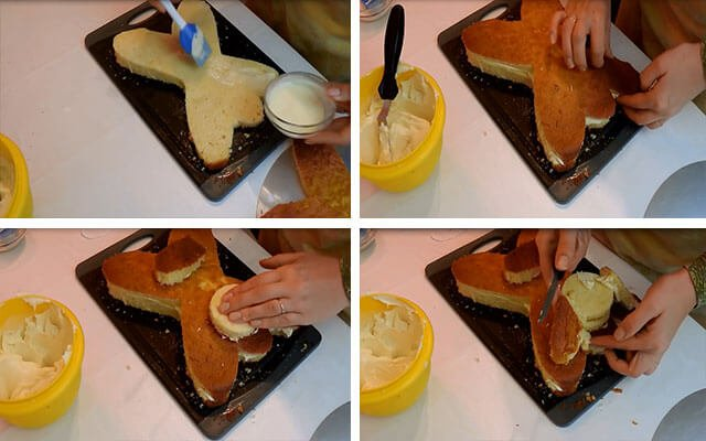 Как сделать торты мастер класс