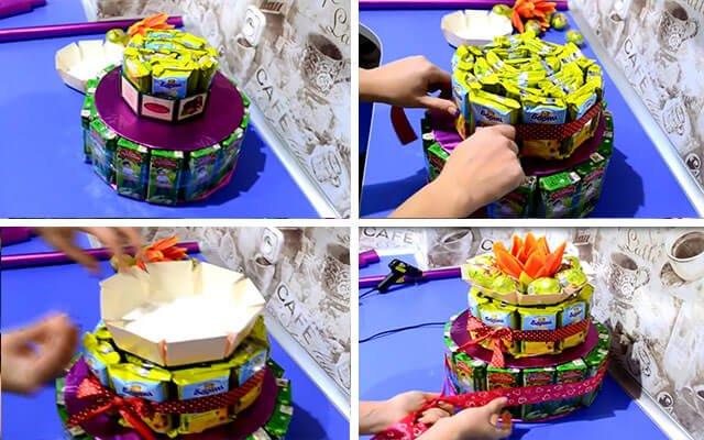 Как сделать торт своими руками ребёнку 549