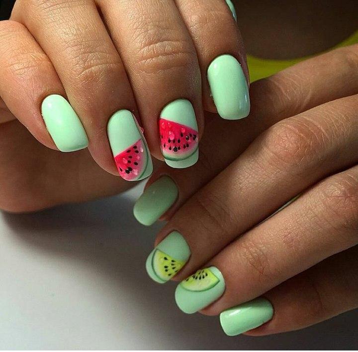 Дизайн ногтей модный летом 2017
