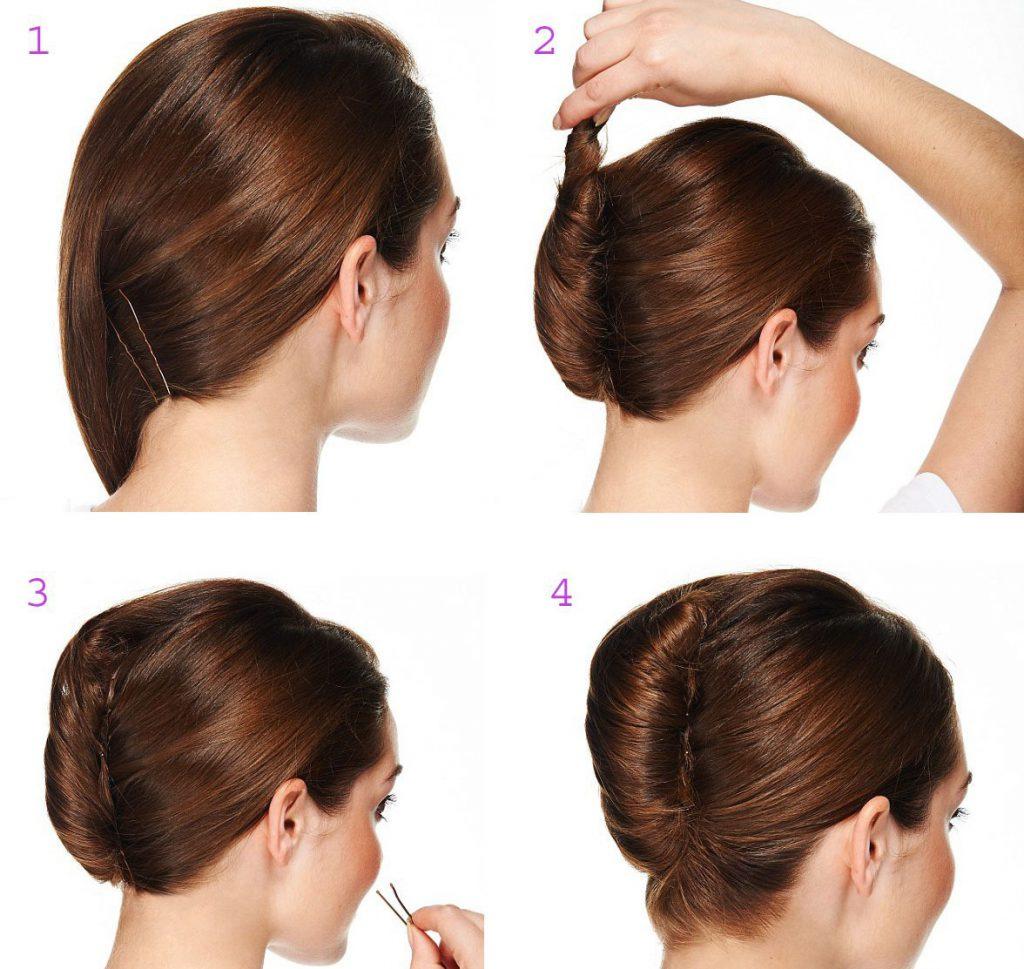 Прически с валиком для волос: 10 причесок своими руками 66