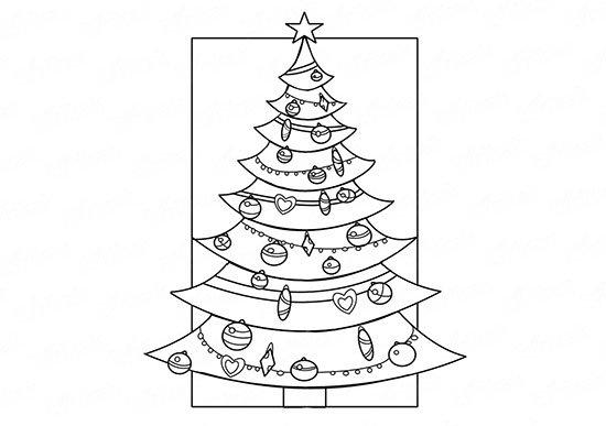 Малюнки олівцем на Новий рік