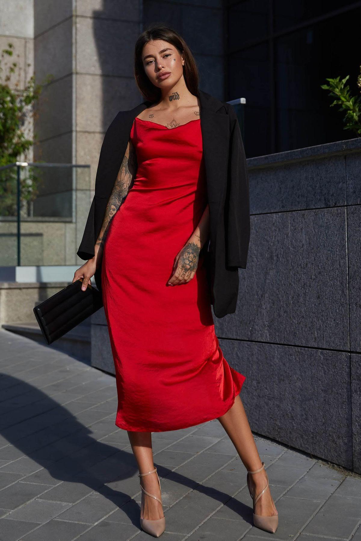 З чим носити плаття комбінацію